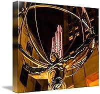 "「Atlas–ロックフェラーセンターウォールアートプリントby James Howe 14"" x 11"" 4733225_2_thickbox"