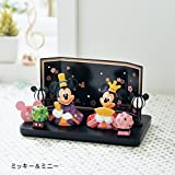 【Disney】ディズニー 親王飾り ミッキー&ミニー