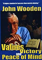 John Wooden: Values Victory & Peace of Mind [DVD] [Import]