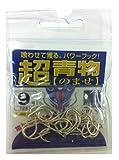 金龍 ヘッター付Hライン 青物ノマセ ホワイト 9号