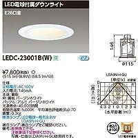 東芝 一般形電球付DL E26Ф100 LEDC-23001B(W)