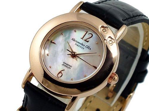 アレッサンドラオーラ ALESSANDRA OLLA 腕時計 AO-630-BK ブラック