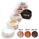 【10色のうち、3色選択】しっとりきらきらアイシャドウ ジュエルジェルアイシャドウ (IDEEB Jewel Gel Eyeshadow) 3g * 3個 (選択5. 06+08+10)