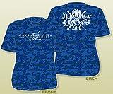 水樹奈々 【LIVE GAMES 2010】 TシャツC(迷彩BLUE) 不良品 (M)