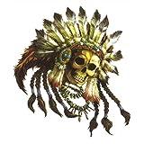 東洋マーク 【INDIO GOLD】 Eternal Darkness Skull's Sticker エターナルダークネス 純正ステッカー R-530