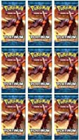 Pokemon TCG Card Game Rising Rivals Booster Pack Lot of 9 Packs by Pokテゥmon [並行輸入品]