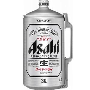 アサヒ スーパードライ ミニ樽アルミ 3Lの関連商品2