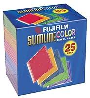 Fujifilmメディア25367025空カラースリムジュエルCases–25パック(Discontinued by Manufacturer)