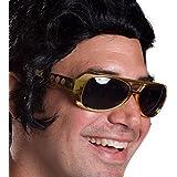 [ロードアイランドノベルティー]Rhode Island Novelty Elvis TCB Large Elvis King of Rock Rock & Roll TCB Aviator [並行輸入品]
