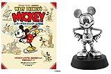 【プライムデー記念発売】ミッキーマウスピューターフィギュア付き ウォルト・ディズニー名著復刻 ミッキーマウス ヴィンテージ物語