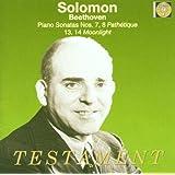 Solomon Plays Beethoven Pn Son Nos. 7, 8 Pathetique 13, 14 Moonlight