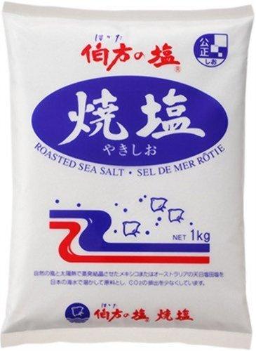伯方の塩 焼塩 1kg /伯方の塩(3袋)