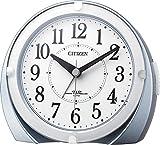 シチズン 電波 目覚まし 時計 アナログ R431 ピッタリに鳴るジャストアラーム ( 新機能  :アラーム誤差0秒) 青 CITIZEN 4RL431-N04