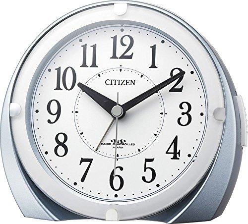 CITIZEN ( シチズン ) 電波 目覚まし 時計 ネムリーナマロンF ブルーメタリック色 4RL431-N04