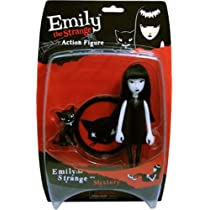 Emily The Strange - Bendy Figure : Emily
