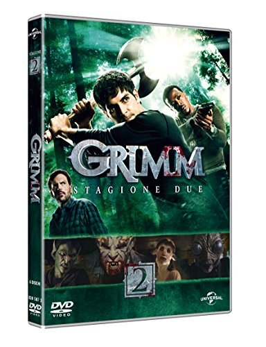 grimm - season 02 (6 dvd) box set DVD Italian Import by silas weir mitchell