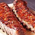 ミートガイ 豚スペアリブ (小さめ2ラック 約1.2kg) ベイビーバックリブ Baby Pork Back Ribs (Small 2racks,1.2kg)