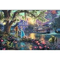 西洋絵画 ディズニープリンセスと魔法のキス The Princess and the Frog トーマスキンケード [並行輸入品]