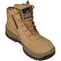 Mongrel Work Boots 961050, Soft Toe, Non Safety, Nubuck, Zip Sider.