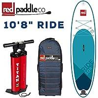 """特典付き 2018 RED PADDLE 10'8""""×34 RIDE MSL ALL ROUND / レッドパドル ライド SUP インフレータブル パドルボード サップ"""