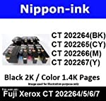 Nippon-ink CT202264 For Use on Fuji Xerox Laser Colour Toners - DocuPrint series: CM115w, CM225fw, CP115w, CP116w, CP225w.