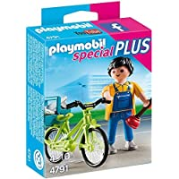 Playmobil 4791 Craftsman with Bicycle by Playmobil [並行輸入品]