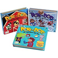 Set of 3 Poke-A-Dot Interactive Books for Young Readers [並行輸入品]