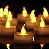 Tea Light, 150 Pack Flameless LED Tea Lights Candles Flickering Warm Yellow 100+ Hours Battery-Powered Tealight Candle. Ideal