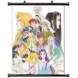 Angeliqueアニメファブリック壁スクロールポスター( 32x 41)インチ。[ WP ] angeliq-20( L )
