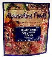 豆とAlpineAireフーズブラックバートチリ