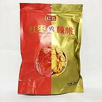 横浜中華街 紅棗夾核桃(干し赤棗とクルミの組み合わせ)、258g、 健康栄養食材・中華名物・人気菓子♪