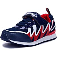 DADAWEN Boy's Girl's Athletic Strap Light Weight Breathable Running Sneakers (Toddler/Little Kid/Big Kid)
