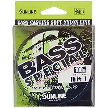 サンライン(SUNLINE) ナイロンライン バススペシャル HG 100m 4号 16LB
