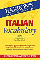 Italian Vocabulary (Barron's Vocabulary)