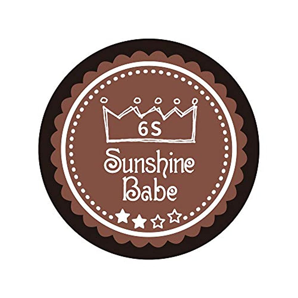 ひばり請願者アンタゴニストSunshine Babe カラージェル 6S エンペラドール 2.7g UV/LED対応