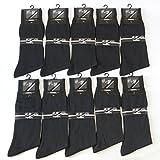メンズ 靴下 礼装 フォーマル 薄手 ビジネス ソックス 黒 10足セット