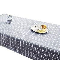 HANSHAN テーブルクロス テーブルクロス、装飾布テーブルカバー卓上プロテクター学生ダイニングテーブルパッド3カラー53×86インチ (Color : B, Size : 47 × 62inch)
