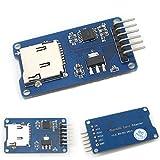 HiLetgo Micro SD TFカードメモリシールドモジュール Arduinoに対応 SPIマイクロSDアダプタ 6PIN(3個セット) [並行輸入品]