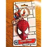 Marvel(マーベル) Spider-man(スパイダーマン) Face/Colored メタルキーホルダー [並行輸入品]