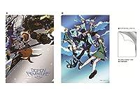 デジモンアドベンチャー tri. 第1章「再会」■劇場限定オリジナル  メタリック2ポケットクリアファイル