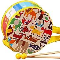 赤ちゃん楽器おもちゃ子供たちハンドドラムミュージカルドラム玩具 15cm/5.9in #12