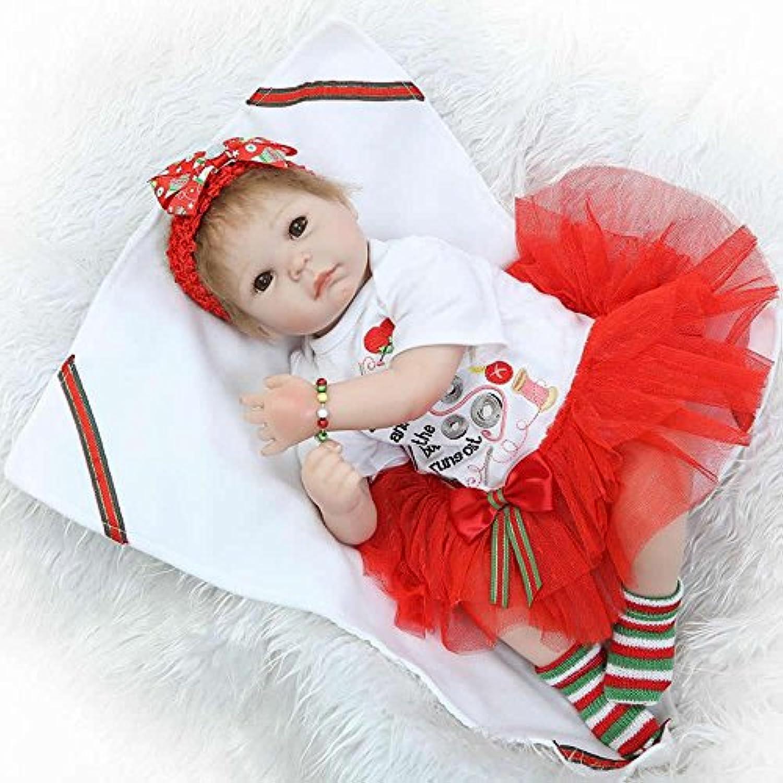 最新20インチRebornガールズ赤ちゃんシリコンソフトプリンセスベビー人形おもちゃwithブラウンEyesキッズクリスマスギフト