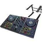 DJスタートセット Party Mix + LPSTAND (DJコントローラー + PCスタンド)