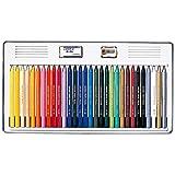 サクラクレパス 色鉛筆 クーピー 30色 缶ケース入り FY30
