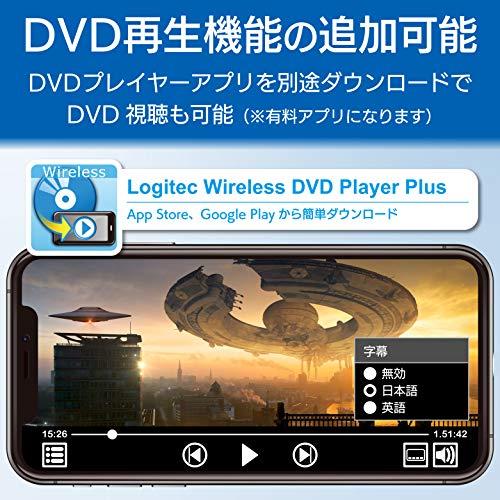 『ロジテック 音楽CD取り込みドライブ WiFi 2.4Ghz対応 11n iOS/Android対応 USB2.0 ホワイト LDR-PS24GWU3RWH』の6枚目の画像