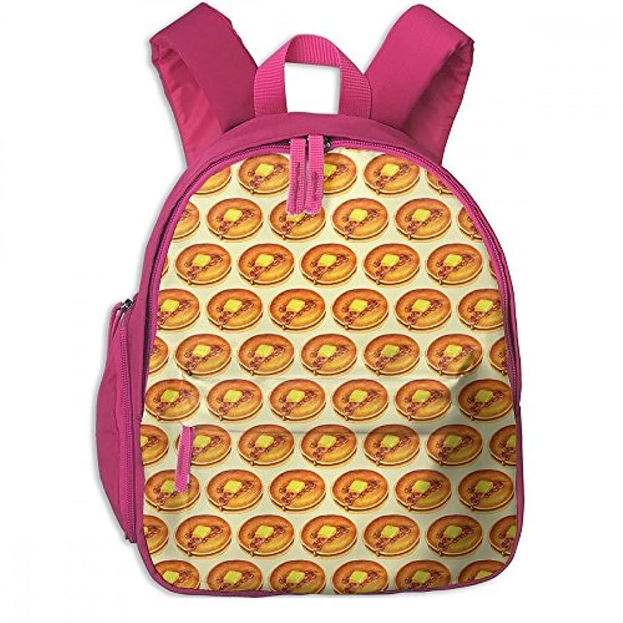 応じるピン人物パン かわいい 子供用バックパック 綺麗 キッズ リュック 実用性 通学 パック ポケット付き