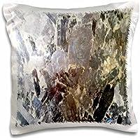 3dローズFlorene Granite–抽象化と大理石ゴールドとバイオレットのイメージRock Granite–枕ケース 16x16 inch Pillow Case pc_252647_1