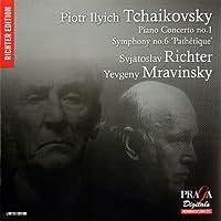 チャイコフスキー : ピアノ協奏曲 第1番 | 交響曲 第6番 「悲愴」 (Piotr Ilyich Tchaikovsky : Piano Concerto no.1 | Symphony 'Pathetique' / Svjatoslav Richter , Evgeni Mravinsky) [SACD Hybrid] [輸入盤]
