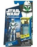Hasbro スター・ウォーズ クローン・ウォーズ ベーシックフィギュア クローン・トルーパー ドラー/Star Wars 2010 The Clone Wars Action Figure CW35 Clone Trooper Draa【並行輸入】