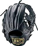 ZETT(ゼット) 少年野球 軟式 オールラウンド グラブ(グローブ) グランドヒーロー (右投げ用) BJGB72640 ブラック M